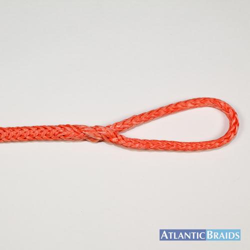 Dyneema Brummel Eye Splice - 1 end of rope - Atlantic Braids